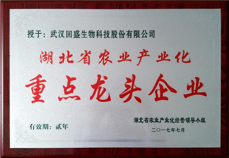 湖北省农业产业化重点龙头企业