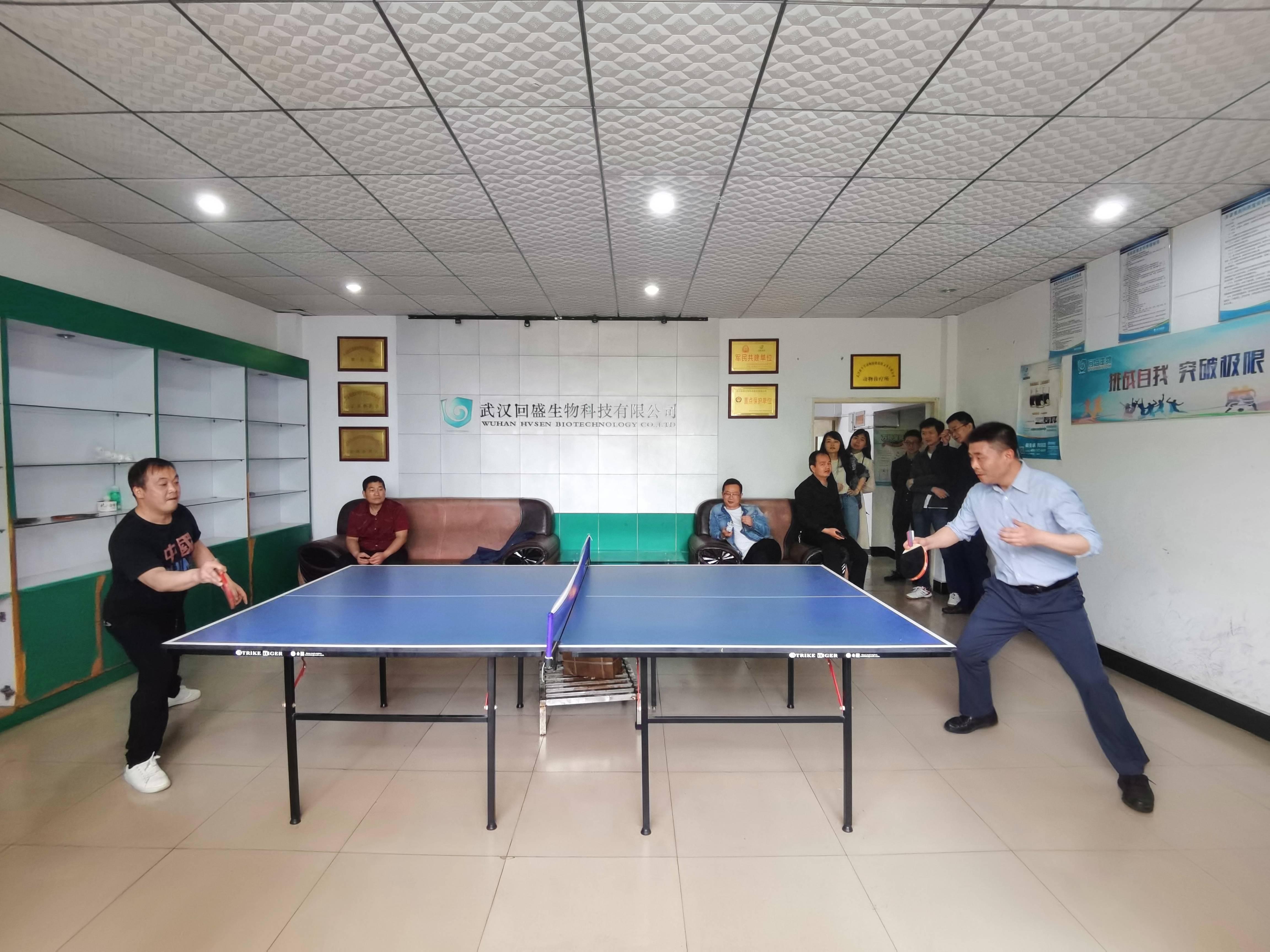"""""""乒""""出精彩——2021年""""回盛杯""""乒乓球比赛圆满落幕"""